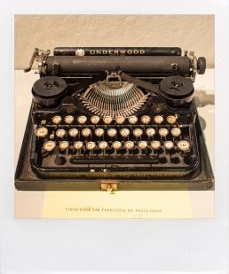 Ernest-Hemingway-1929-Underwood-Standard FAKE